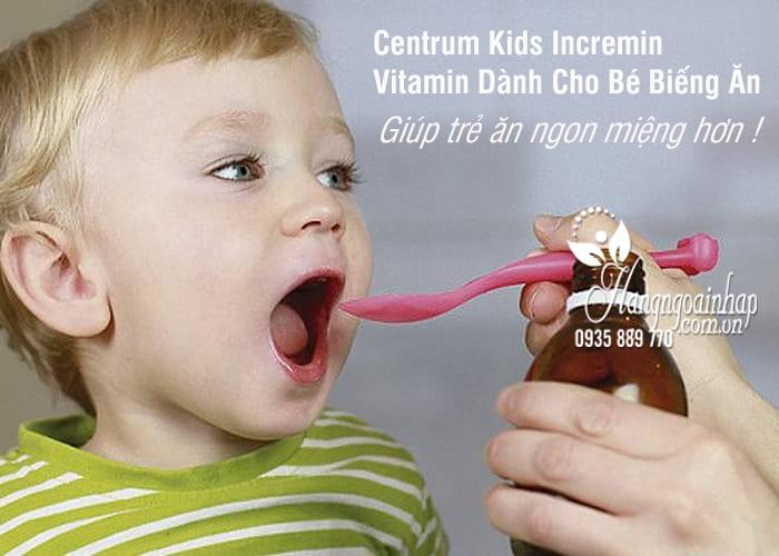 Centrum Kids Incremin – Vitamin Dành Cho Bé Biếng Ăn 2