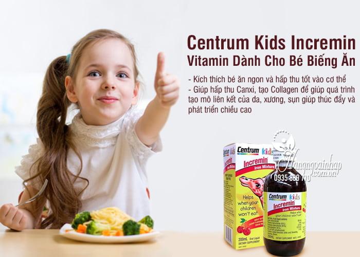 Centrum Kids Incremin – Vitamin Dành Cho Bé Biếng Ăn 6