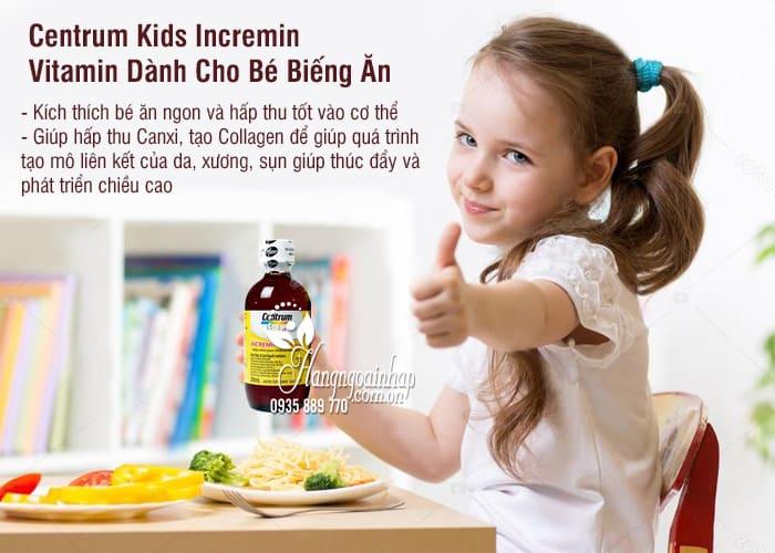 Centrum Kids Incremin – Vitamin Dành Cho Bé Biếng Ăn 1