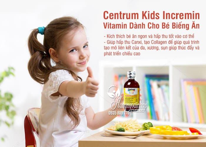 Centrum Kids Incremin – Vitamin Dành Cho Bé Biếng Ăn 9