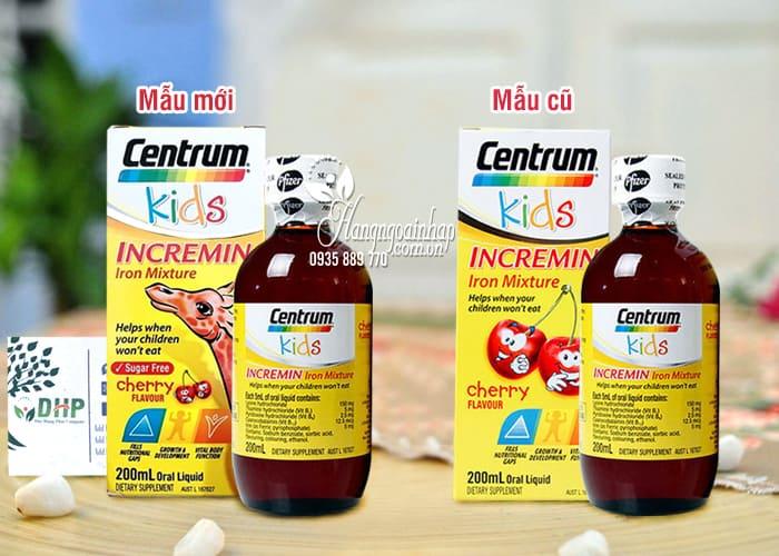 Centrum Kids Incremin – Vitamin Dành Cho Bé Biếng Ăn 8