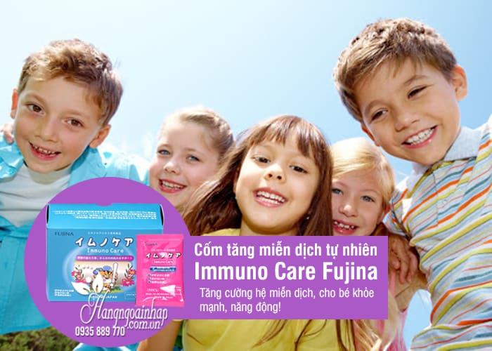 Cốm tăng miễn dịch tự nhiên Immuno Care Fujina 15 gói x 2g 1
