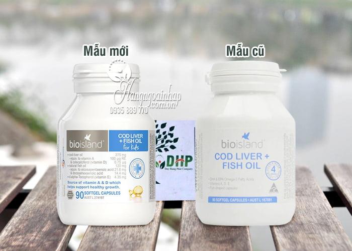 Dầu Cá Cod Liver Fish Oil Bio Island Hộp 90 Viên Của Úc 1