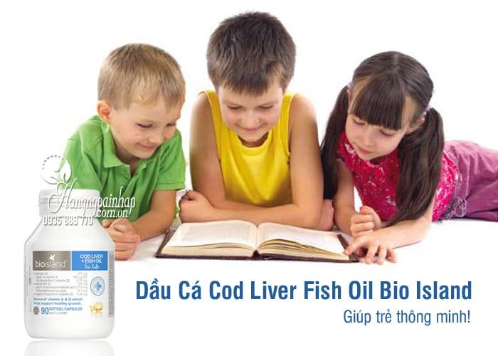 Dầu Cá Cod Liver Fish Oil Bio Island Hộp 90 Viên Của Úc 6