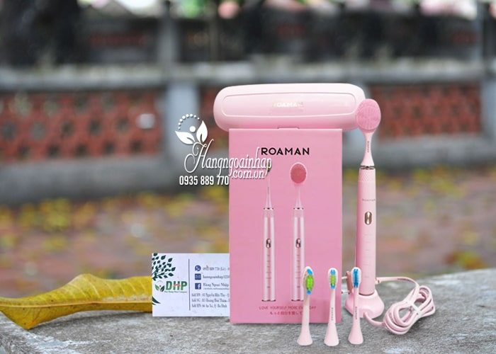 Bàn chải đánh răng điện Roaman RM T20 Nhật Bản màu hồng 7