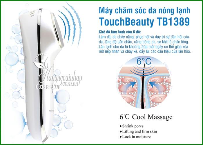 Máy chăm sóc da nóng lạnh TouchBeauty TB1389 chính hãng 7