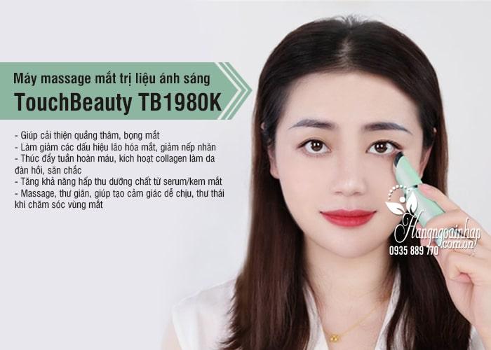 Máy massage mắt trị liệu ánh sáng TouchBeauty TB1980K 7