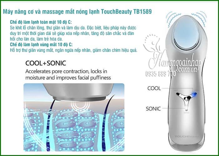 Máy nâng cơ và massage mắt nóng lạnh TouchBeauty TB1589 7