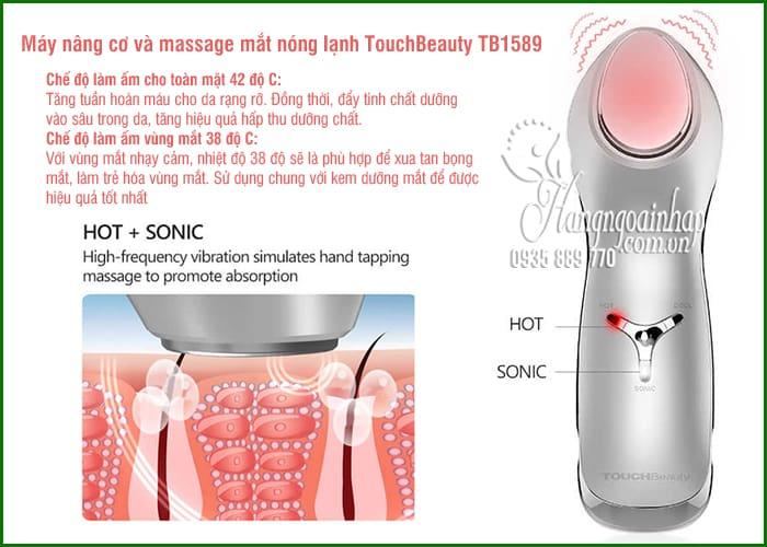 Máy nâng cơ và massage mắt nóng lạnh TouchBeauty TB1589 8