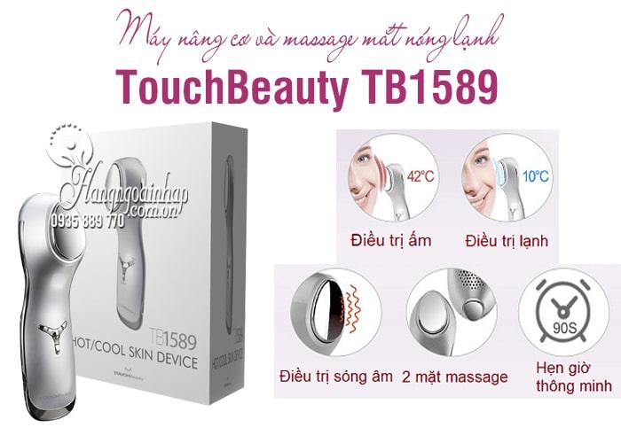 Máy nâng cơ và massage mắt nóng lạnh TouchBeauty TB1589 1