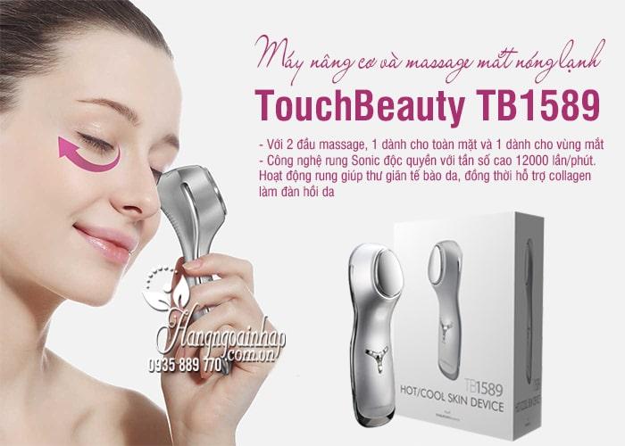 Máy nâng cơ và massage mắt nóng lạnh TouchBeauty TB1589 0