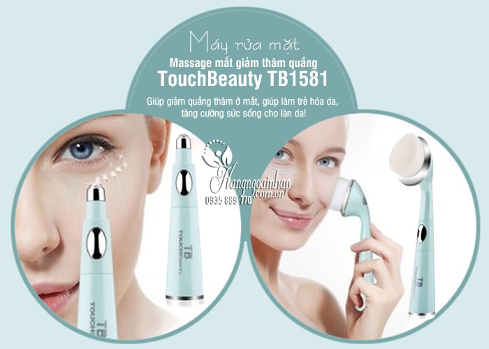 Máy rửa mặt massage mắt giảm thâm quầng TouchBeauty TB1581 6