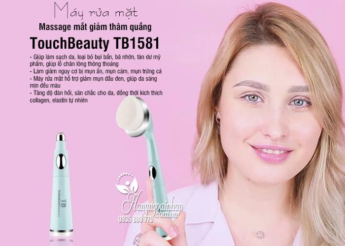 Máy rửa mặt massage mắt giảm thâm quầng TouchBeauty TB1581 9