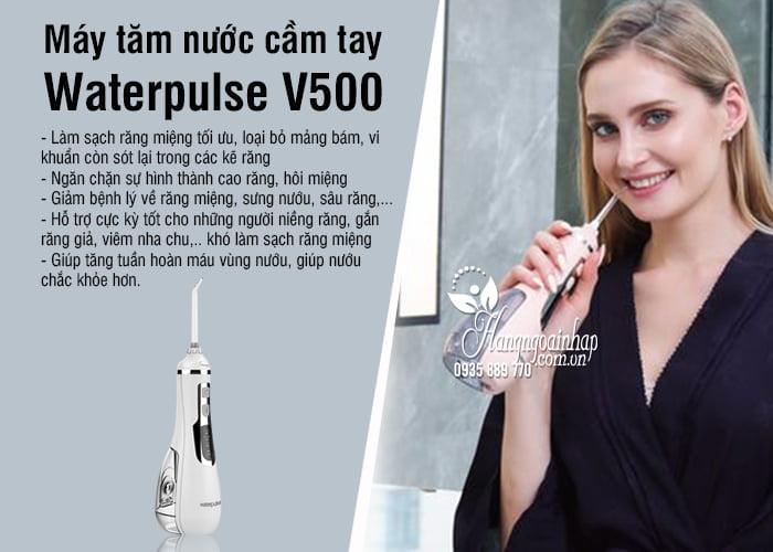 Máy tăm nước cầm tay Waterpulse V500 chính hãng giá tốt 9