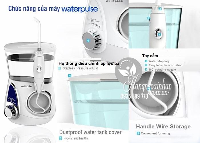 Máy tăm nước gia đình Waterpulse V600 chăm sóc răng miệng 9