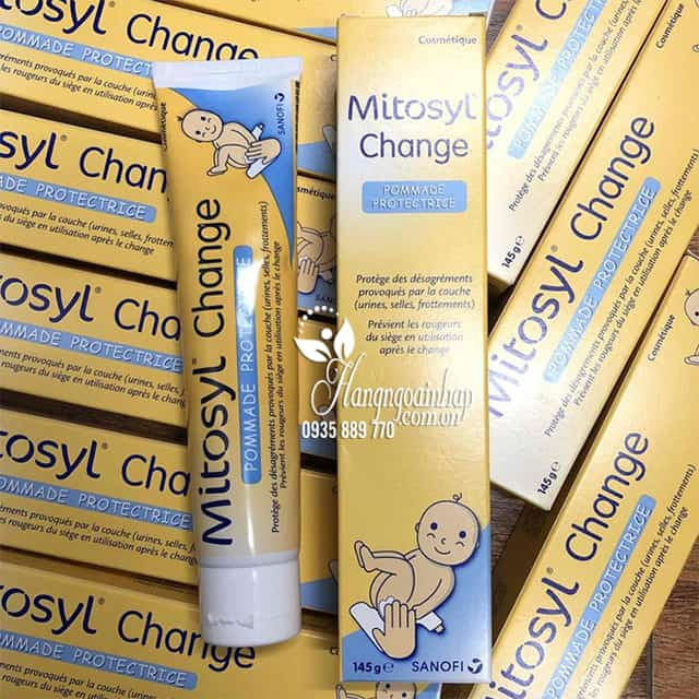 Kem trị sẹo bỏng hăm Mitosyl Change 145g của Pháp 9