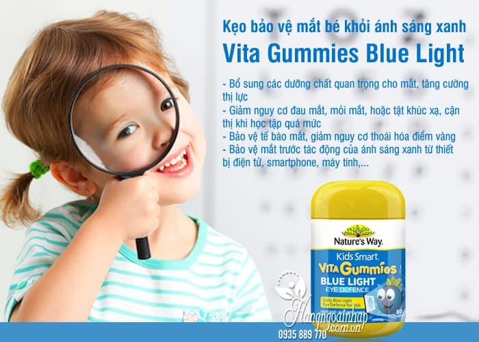 Kẹo bảo vệ mắt bé khỏi ánh sáng xanh Vita Gummies Blue Light 3