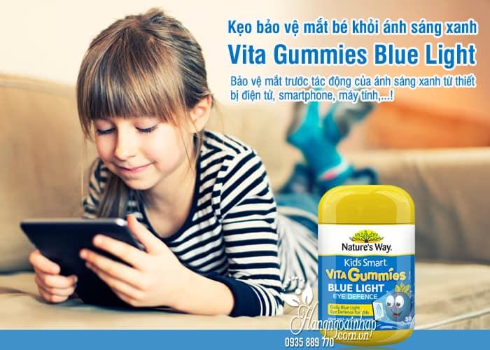 Kẹo bảo vệ mắt bé khỏi ánh sáng xanh Vita Gummies Blue Light 5