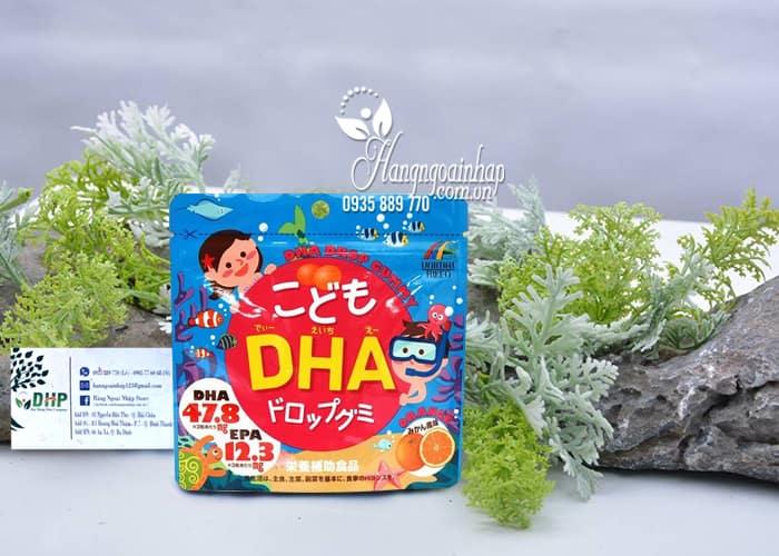 Kẹo bổ sung DHA cho bé DHA Drop Gummy của Nhật Bản 9