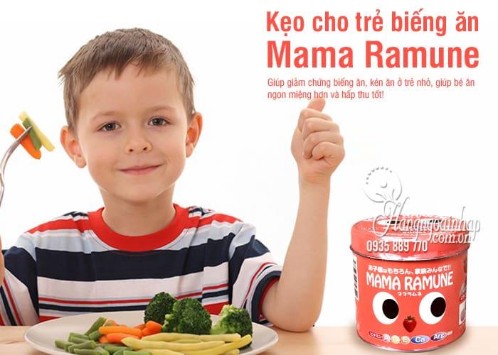 Kẹo cho trẻ biếng ăn Mama Ramune của Nhật Bản 200 viên 1