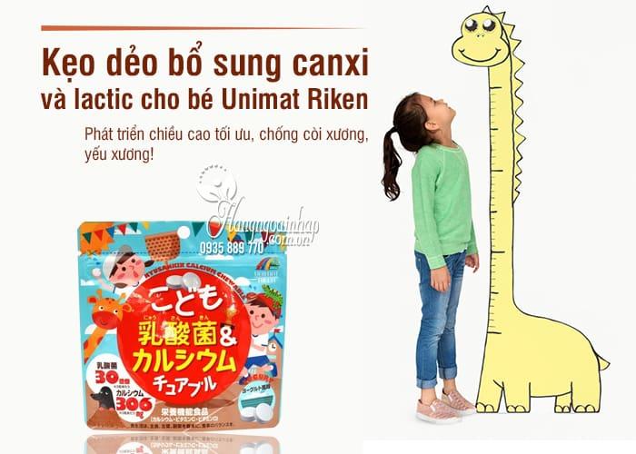 Kẹo bổ sung canxi và lactic cho bé Unimat Riken 90 viên 1