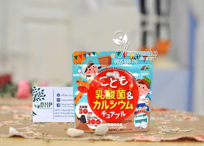 Kẹo bổ sung canxi và lactic cho bé Unimat Riken 90 viên 2