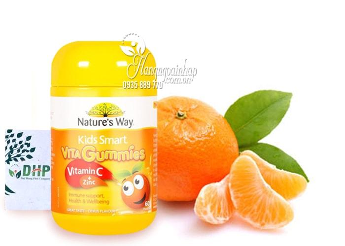 Kẹo dẻo Nature's Way Vita Gummies Vitamin C + Zinc 60 viên Úc 4