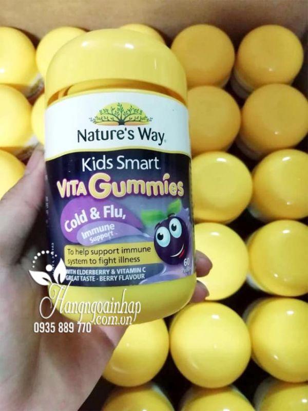 Kẹo dẻo tăng miễn dịch Nature's Way Vita Gummies Immune 60 viên 2