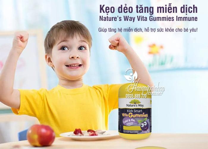 Kẹo dẻo tăng miễn dịch Nature's Way Vita Gummies Immune 60 viên 0