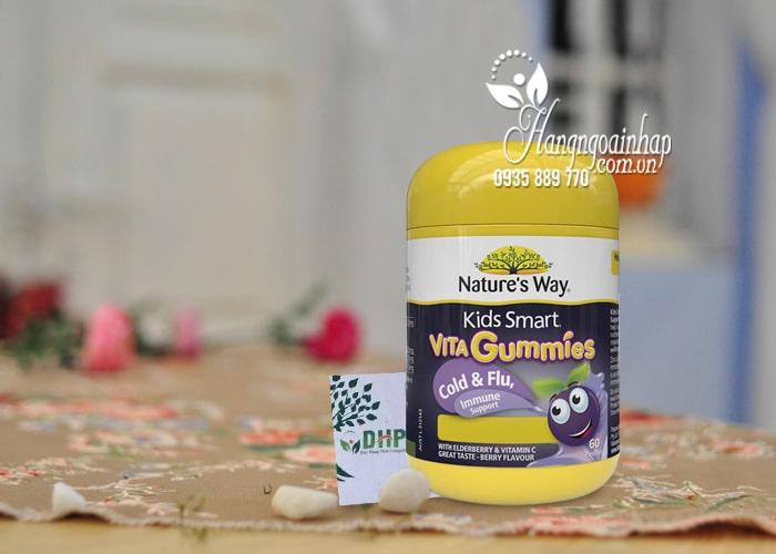 Kẹo dẻo tăng miễn dịch Nature's Way Vita Gummies Immune 60 viên 6