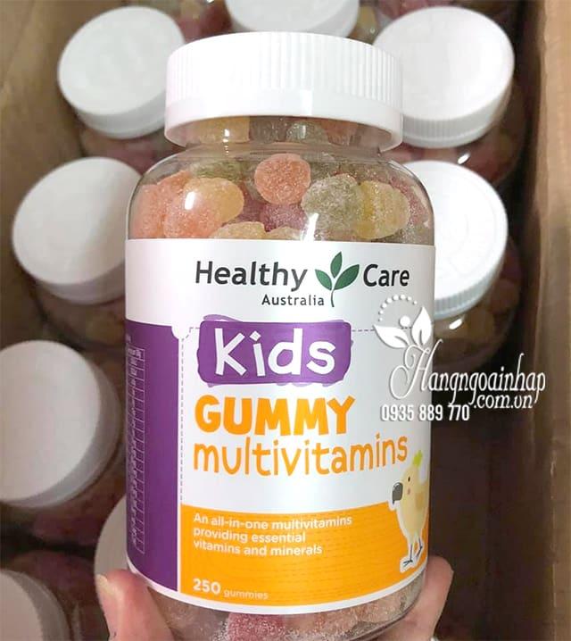 Kẹo dẻo vitamin cho bé Healthy Care Kids Gummy Multivitamins 9