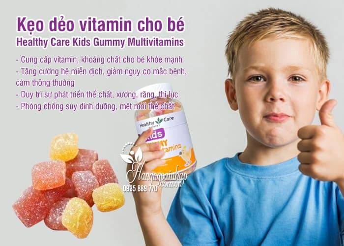 Kẹo dẻo vitamin cho bé Healthy Care Kids Gummy Multivitamins 4