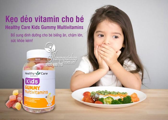 Kẹo dẻo vitamin cho bé Healthy Care Kids Gummy Multivitamins 1