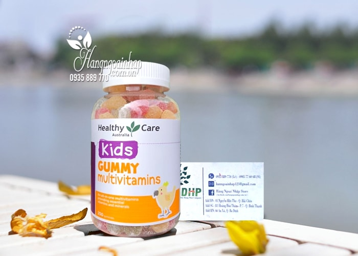 Kẹo dẻo vitamin cho bé Healthy Care Kids Gummy Multivitamins 5