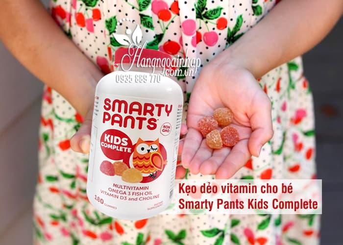 Kẹo dẻo vitamin cho bé Smarty Pants Kids Complete của Mỹ 9
