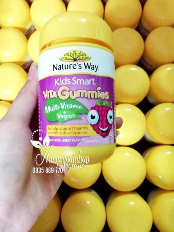 Kẹo dẻo vitamin tổng hợp Vita Gummies Multi Vitamin + Vegies 1