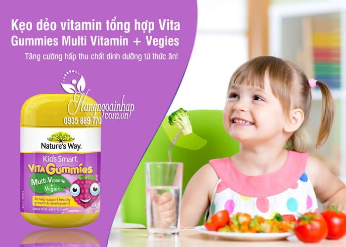 Kẹo dẻo vitamin tổng hợp Vita Gummies Multi Vitamin + Vegies 8