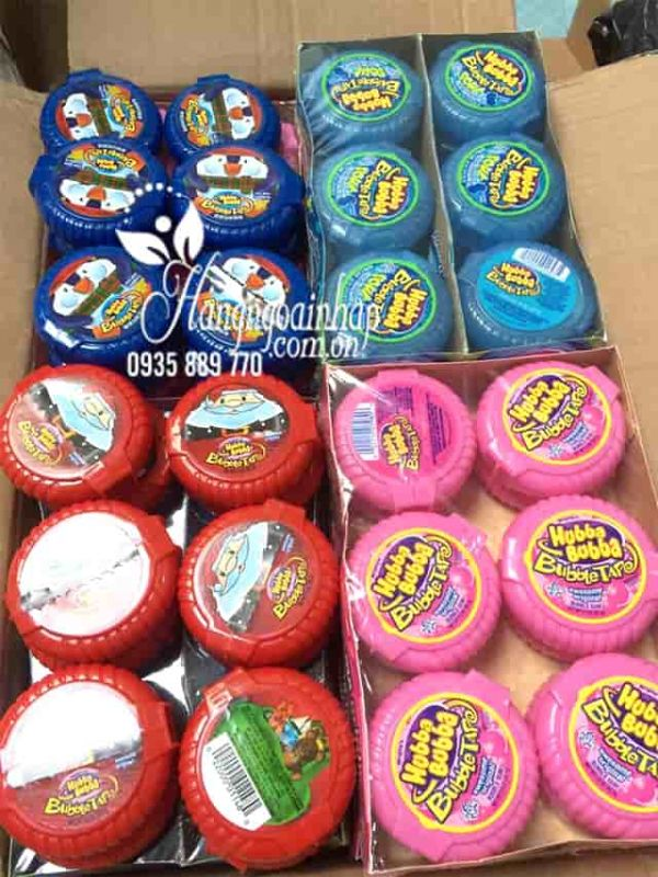 Kẹo gum Hubba Bubba cho bé đủ 4 vị, hàng chính hãng từ Mỹ 1
