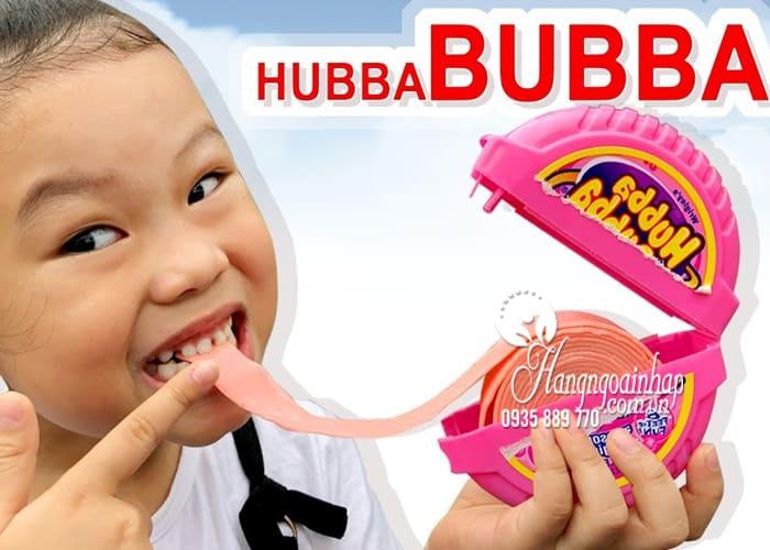 Kẹo gum Hubba Bubba cho bé đủ 4 vị, hàng chính hãng từ Mỹ 3