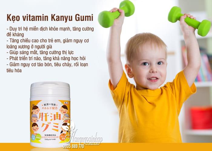 Kẹo vitamin Kanyu Gumi 150 viên hàng Nhật nội địa 6