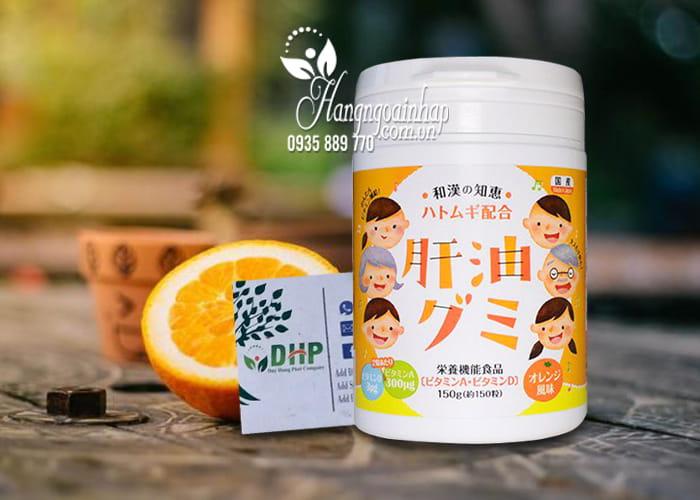 Kẹo vitamin Kanyu Gumi 150 viên hàng Nhật nội địa 2