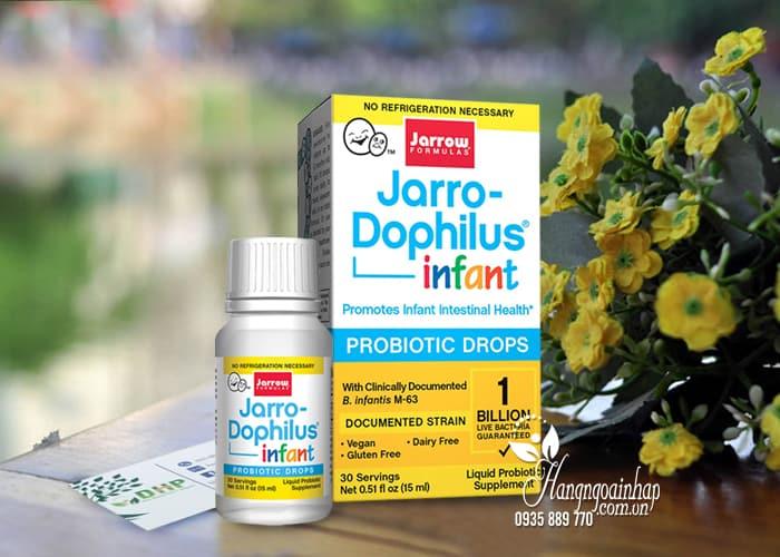 Men vi sinh Jarro-Dophilus Infant Probiotic Drops cho trẻ sơ sinh 3