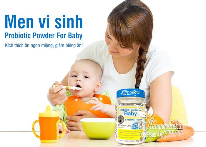 Men vi sinh Probiotic Powder For Baby 40g, bé 6 tháng - 3 tuổi 1