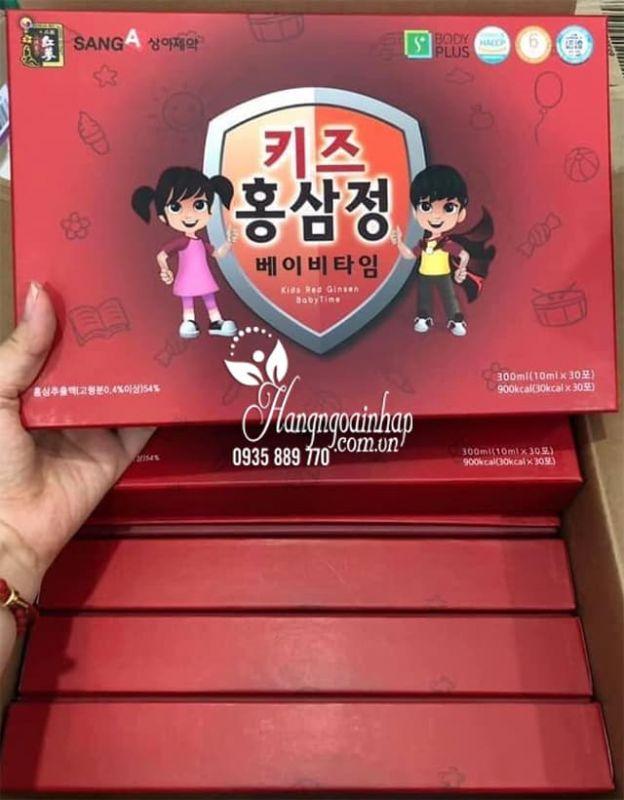 Nước hồng sâm Baby SangA Hàn Quốc 30 gói cho trẻ em 8