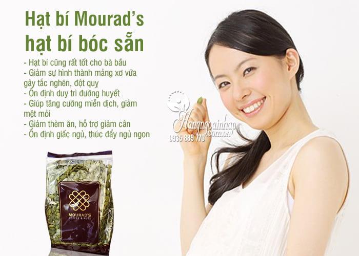 Hạt bí Mourad's, hạt bí bóc sẵn gói 500g của Úc 3
