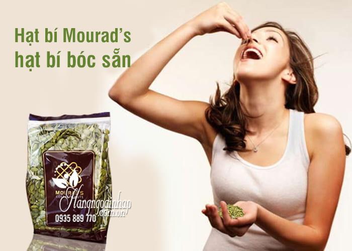 Hạt bí Mourad's, hạt bí bóc sẵn gói 500g của Úc 1