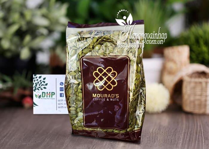 Hạt bí Mourad's, hạt bí bóc sẵn gói 500g của Úc 8