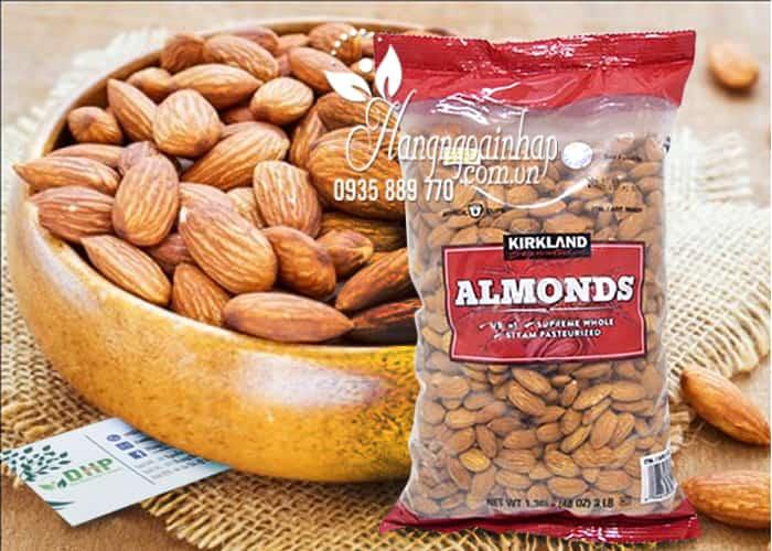 Hạt Hạnh Nhân Sấy Khô Kirkland Almonds Gói 1.36kg 5