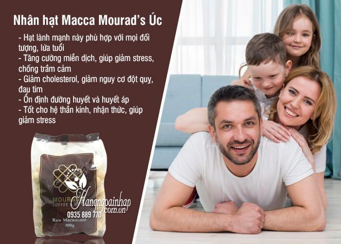 Nhân hạt Macca Mourad's Úc 500g - Macca đã tách vỏ 1