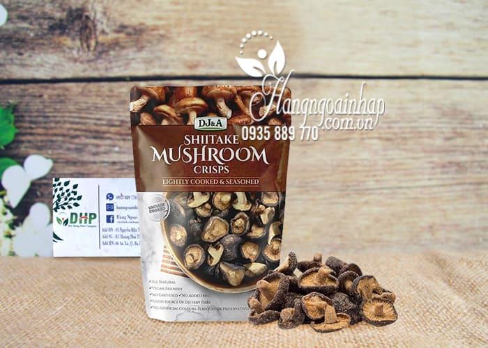 Snack nấm sấy giòn Shiitake Mushroom Crisps 150g Úc 1